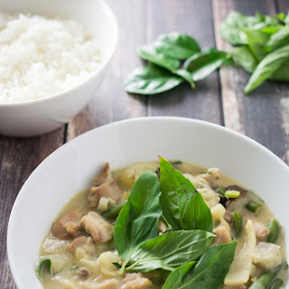 Easy Green Curry with Chicken