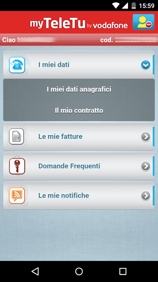 MyTeleTu by Vodafone- screenshot