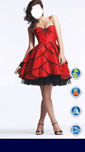 Red Rose Dress Fashion - náhled