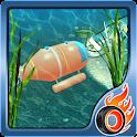 submarine treasure hunter icon