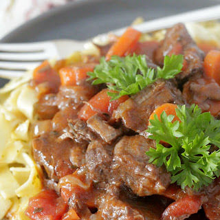 Slow Cooker Provencal Beef Stew.