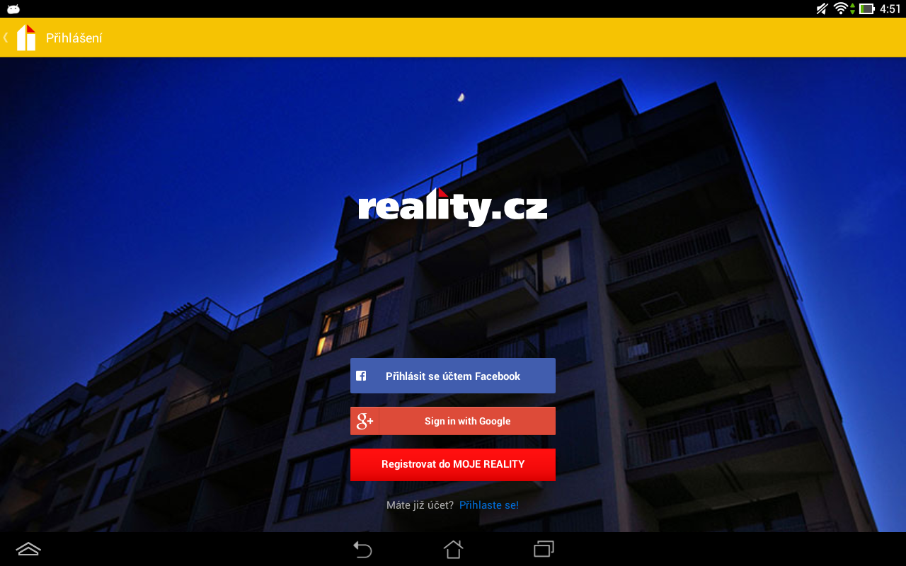 reality.cz- screenshot