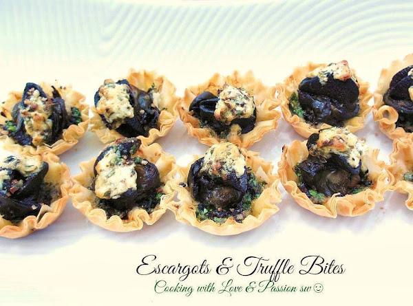 Escargot & Truffle Mini Bites Recipe