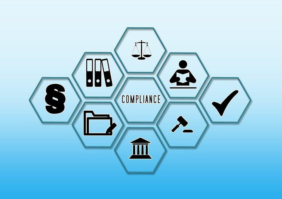 Compliance, Check Mark, Court, Law, Rule, Observance