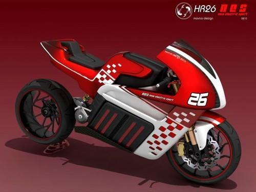 HR26-NES, Electric Motorcycle, Helder Rodrigues