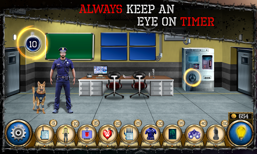 Room Jail Escape - Prisoners Hero screenshots 1