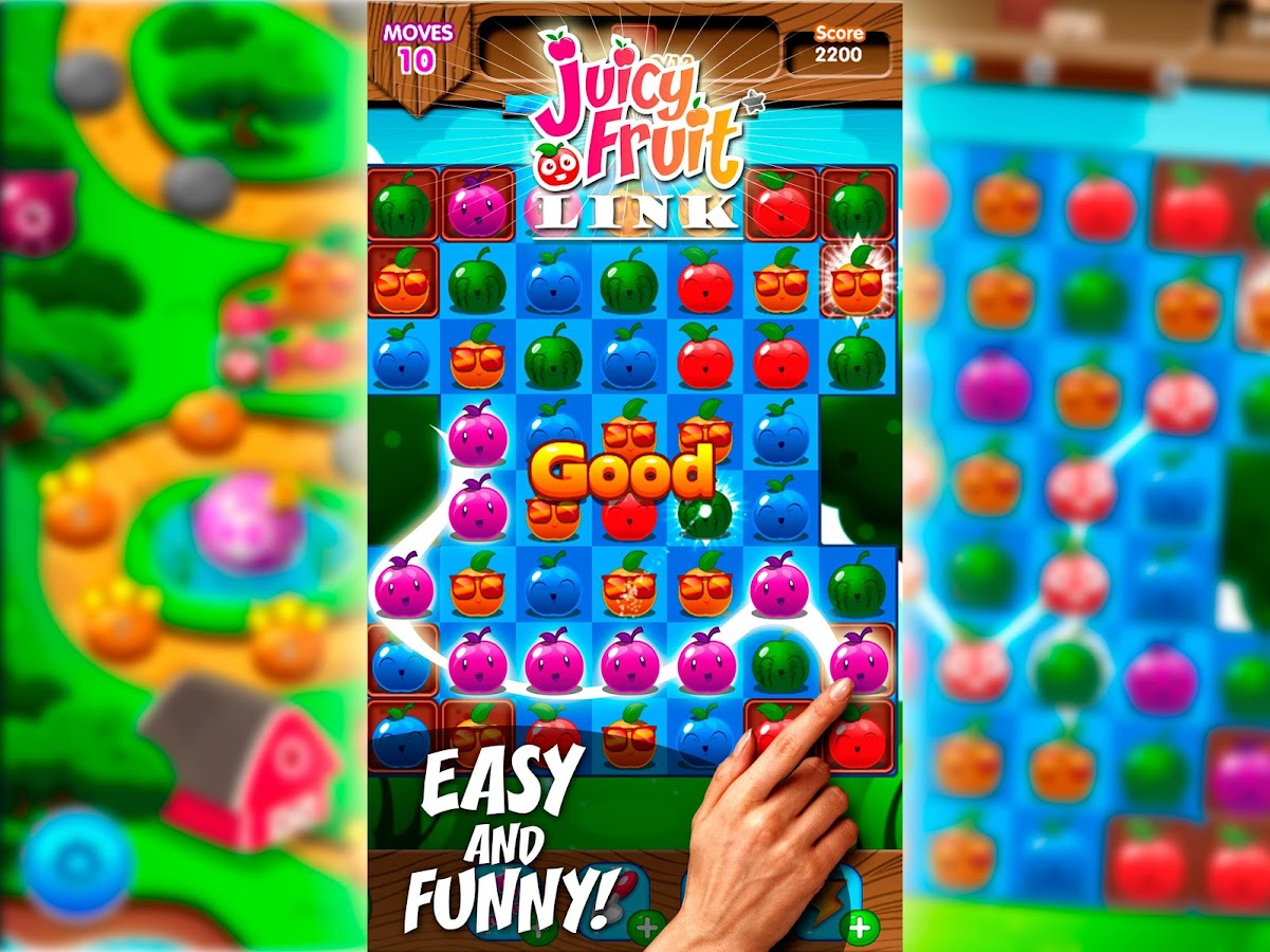 Fruit link deluxe - Juicy Fruit Link Screenshot
