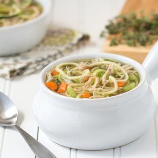 Chicken Veggie-Noodle Soup