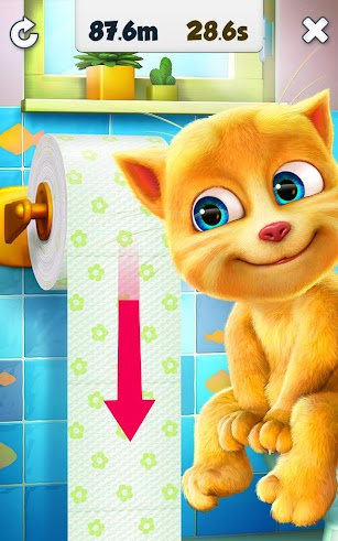 Talking Ginger screenshot for Android