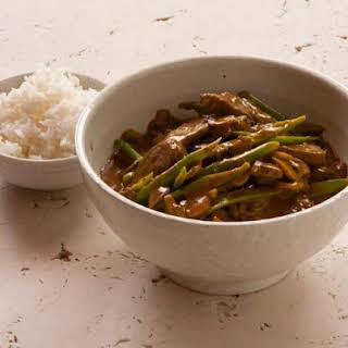 Tamarind Chilli Beef.