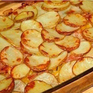Potatoes With Bacon And Courgettes