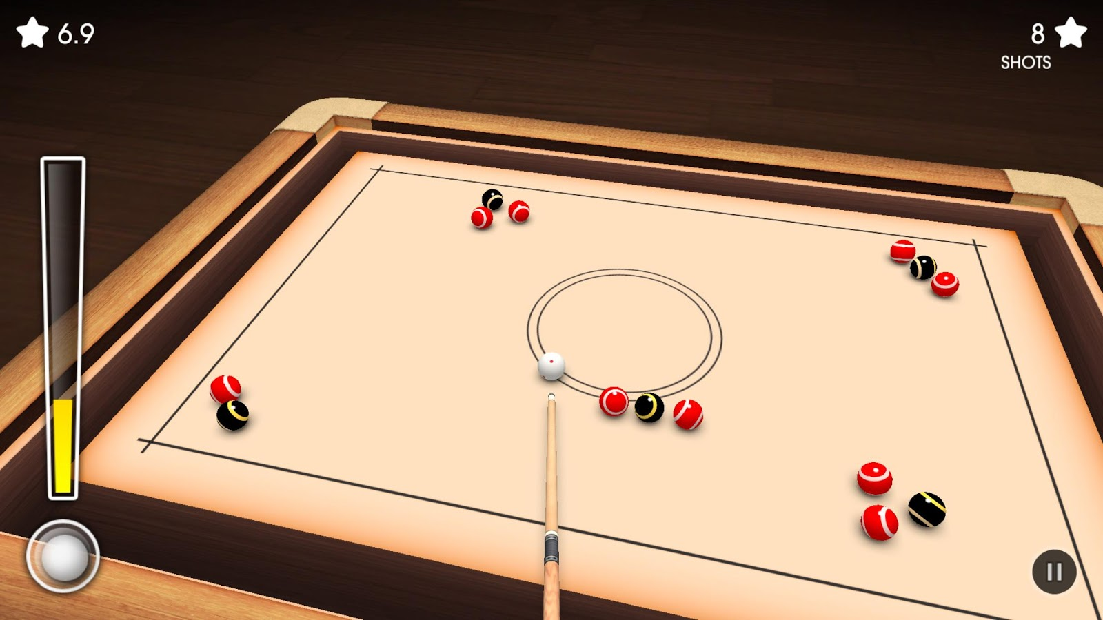 Crazy Pool 3D FREE- screenshot