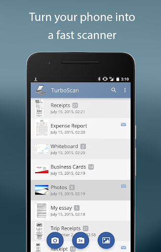 TurboScan: scan documents and receipts in PDF image | 2