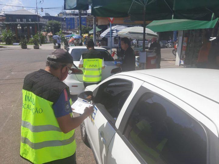 Transporte clandestino no Centro é alvo de operação da prefeitura