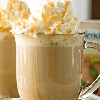Homemade Caramel Latte.