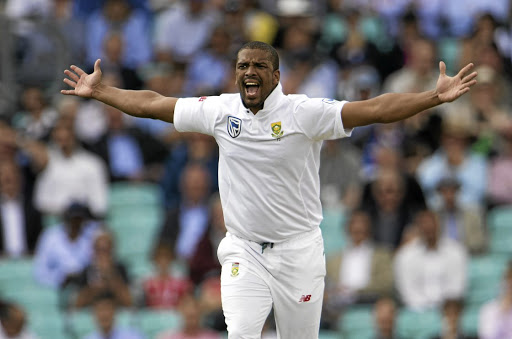 VENOMOUS VERNON: Vernon Philander  during day one of the third Test between England and South Africa at The Oval in London, England, on Thursday last week.