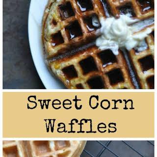 Sweet Corn Waffles.