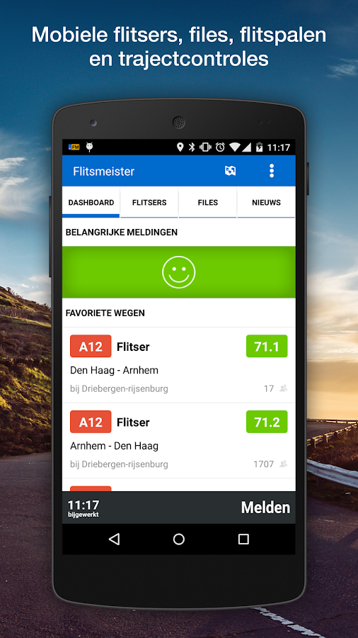 Flitsmeister - screenshot