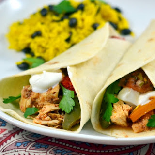 Easy Slow Cooker Chicken Fajitas