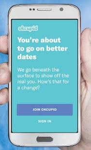 OkCupid Dating - náhled