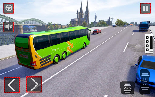 City Coach Bus Driving Simulator 3D: City Bus Game 1.0 screenshots 6