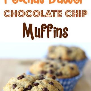 Peanut Butter Chocolate Chip Muffins Recipe!