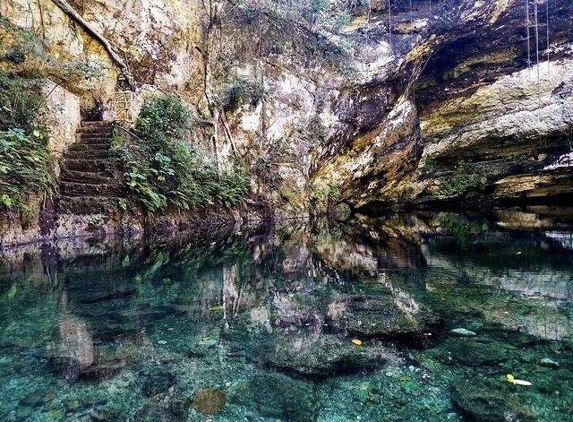 Imagenes del Cenote Xla´kaj, Xocen