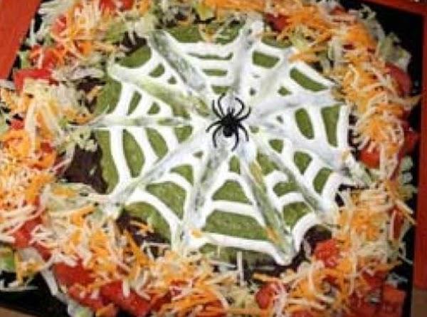 Seven Layer Spider Dip Recipe