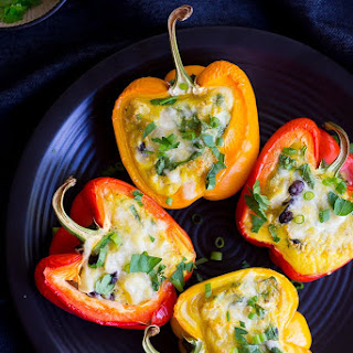 Loaded Breakfast Stuffed Peppers