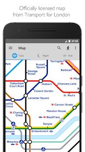 Tube Map London Underground Screenshot 1