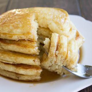 Homemade Pancakes.