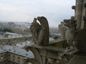 Photo: More Gargoyles at Notre Dame