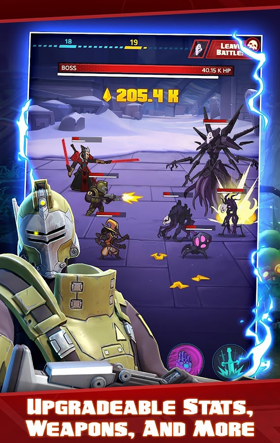 Battleborn Tap- screenshot