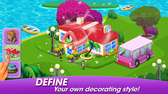 Cooking World: Cook,Serve & Design Your Resort! 3