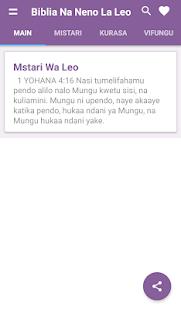Download Biblia Takatifu Ya Kiswahili For Pc Windows And Mac Apk 1 0 Free Books Reference Apps For Android