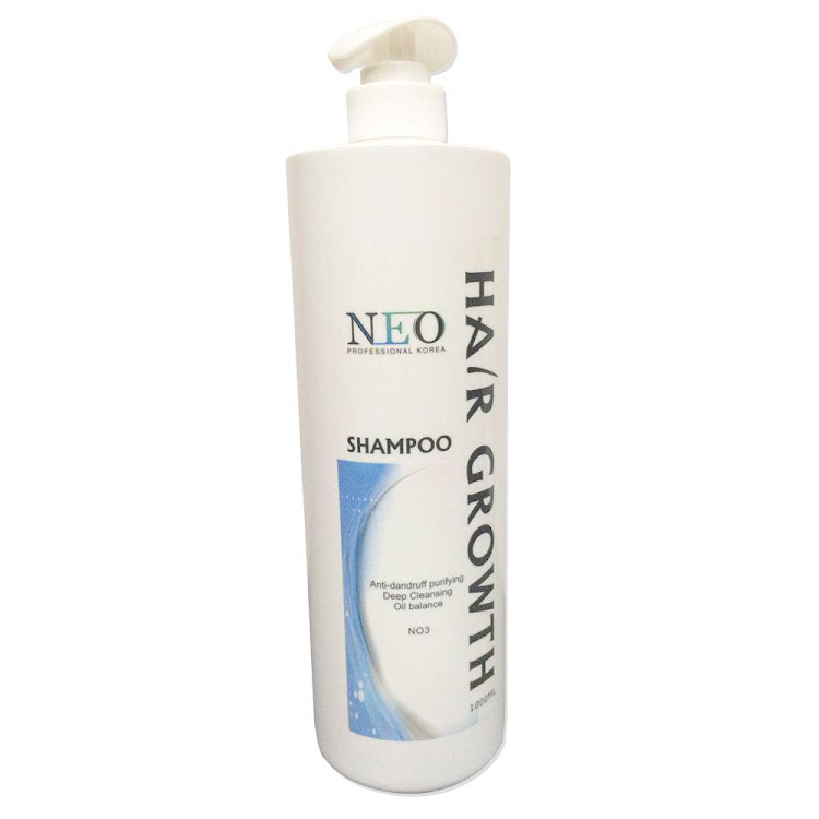 Neo Professional Korea Hair Growth Shampoo 1000ml Anti Hair Loss Treatment Shampoo