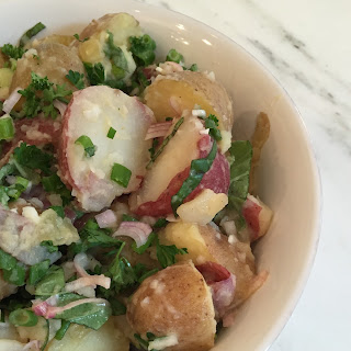 Three Onion Potato Salad Recipe