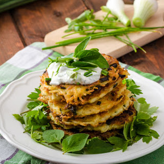 Simple Potato Pancakes.