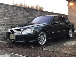 Sクラス W220 AMG. S55Lの洗車のカスタム事例画像 諸葛亮孔明さんの2019年01月21日20:46の投稿