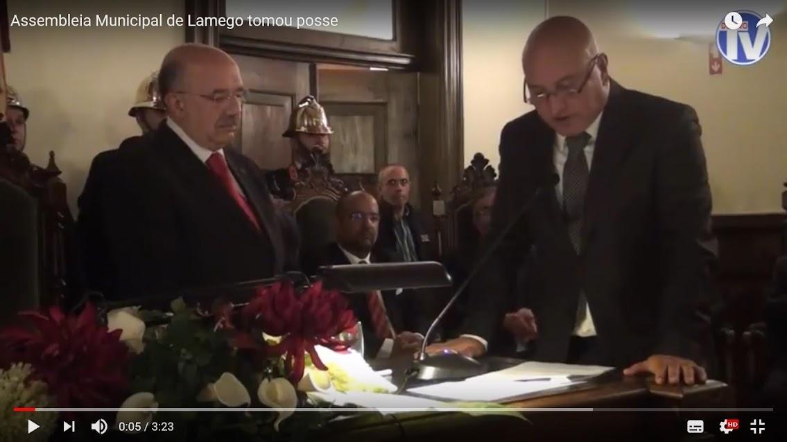 Vídeo - Assembleia Municipal de Lamego tomou posse
