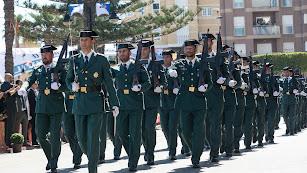 Guardia Civil y Policía Nacional han perdido agentes.