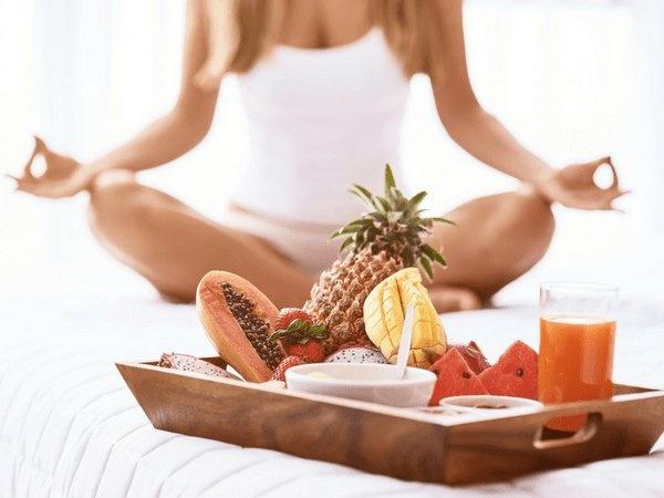 chế độ ăn uống trong yoga dưỡng sinh chữa bệnh