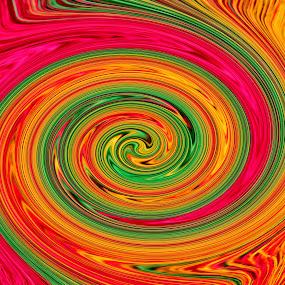 colours by Lisawati Gunawan - Abstract Patterns ( pattern abstract, , circle, pwc79 )