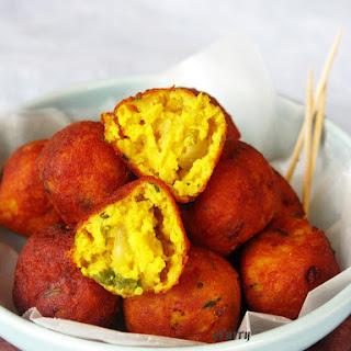 Vegan Indian Batata Wada