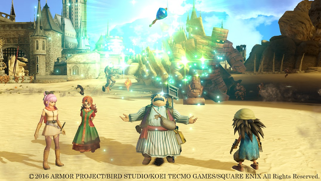 saga] Dragon Quest | DQXI disponibile in Europa | Demo di Dragon