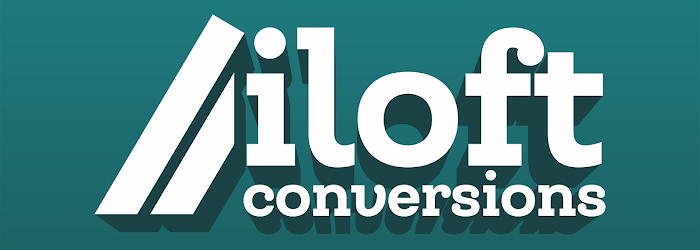 Iloft conversion logo that links to the homepage