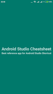 Cheatsheet For Android Studio- screenshot thumbnail