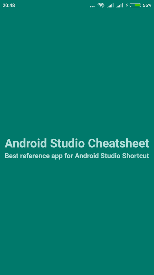 Cheatsheet For Android Studio- screenshot