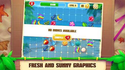 Onet Paradise: connect 2 tiles, pair matching game filehippodl screenshot 3