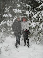 Photo: ... ir staiga pradėjo snigti :)